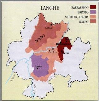 kaart Barbaresco